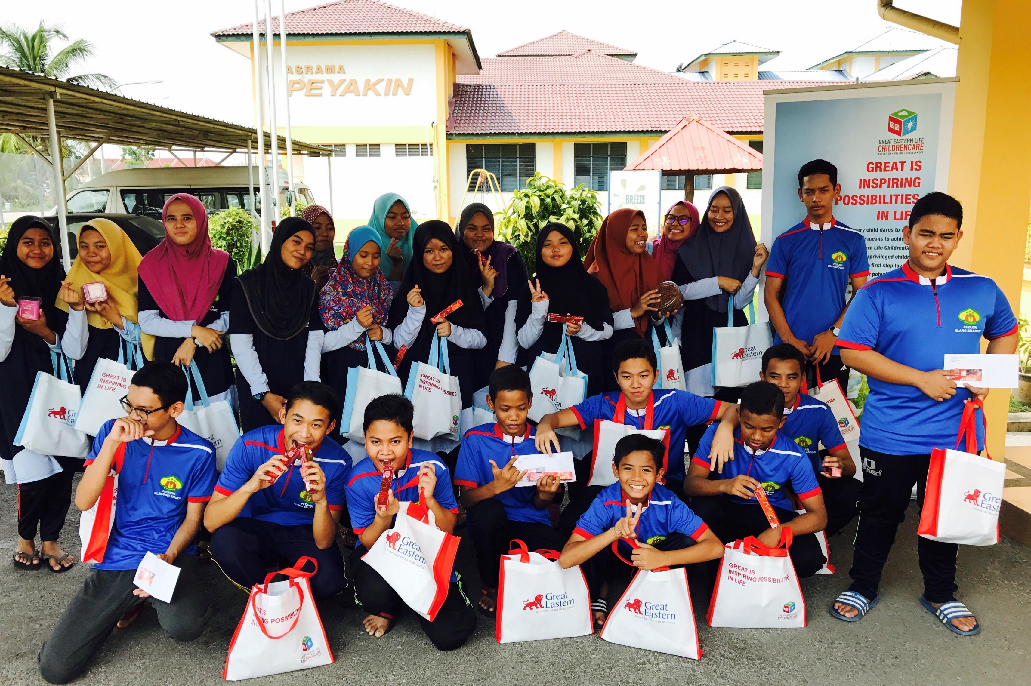 Great Eastern Cares for the Community -  Jabatan Kebajikan Masyarakat (JKM) - Rumah Amal Permata Rohani and Pertubuhan Pendidikan Anak-Anak Yatim Selangor