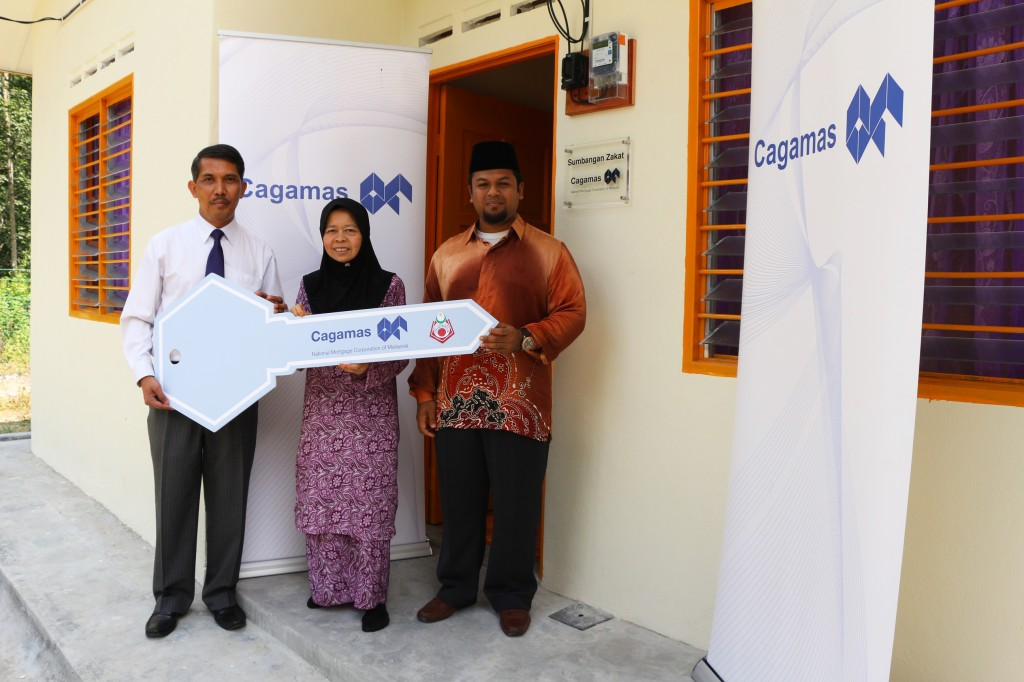 Cagamas sponsors the construction of home under its CSR Programme