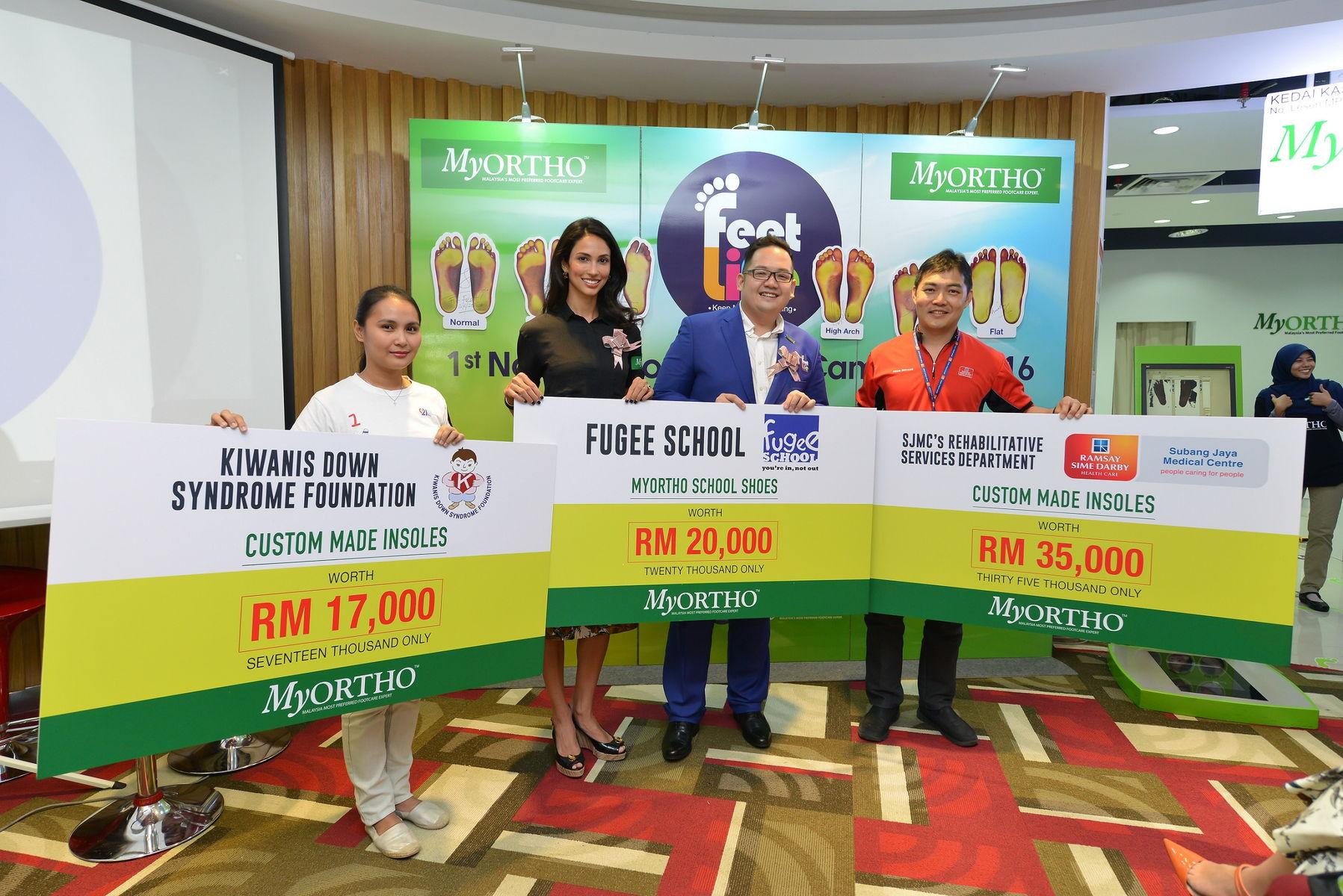 MyOrtho making RM70,000 contribution to Kiwanis, SJMC _ Fugee School.