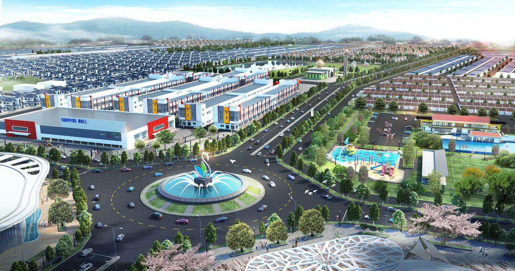 Bandar Baru Setia Awan Perdana Aerial View